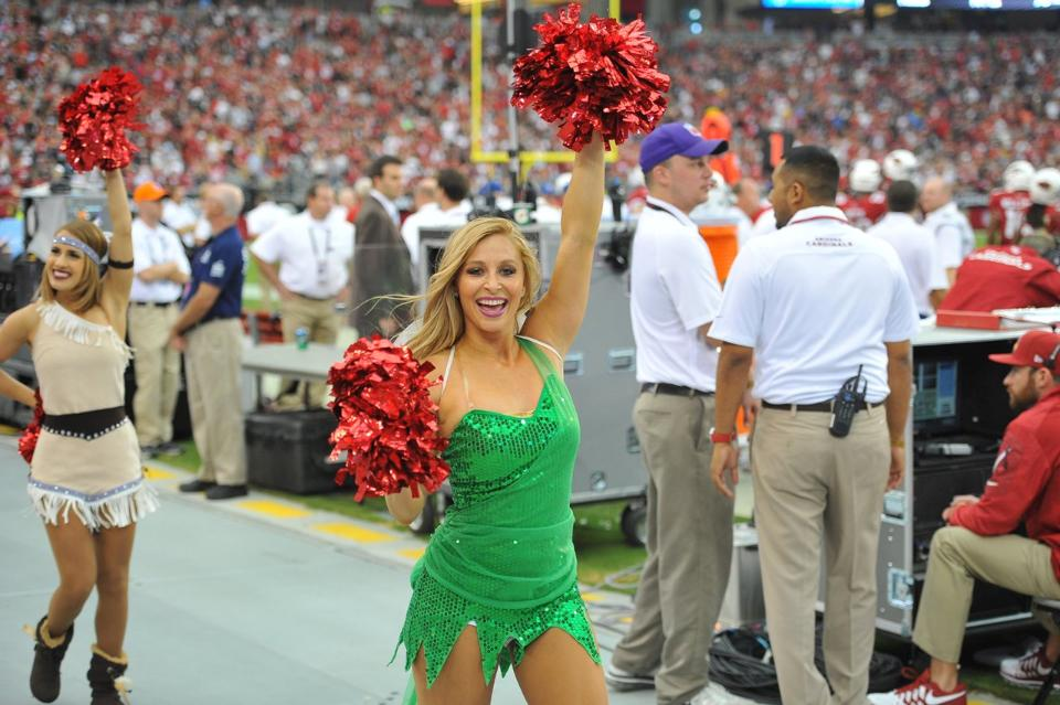 25 NFL Cheerleaders Halloween Costums 2013 - cardinals peter pan