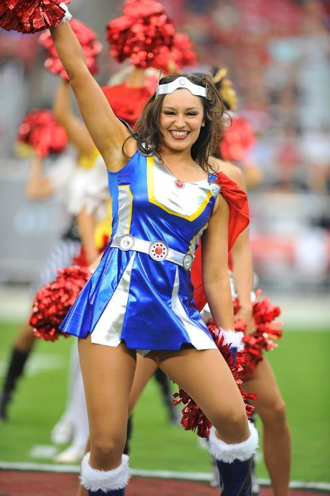 26 NFL Cheerleaders Halloween Costumes 2013 - cardinals ?