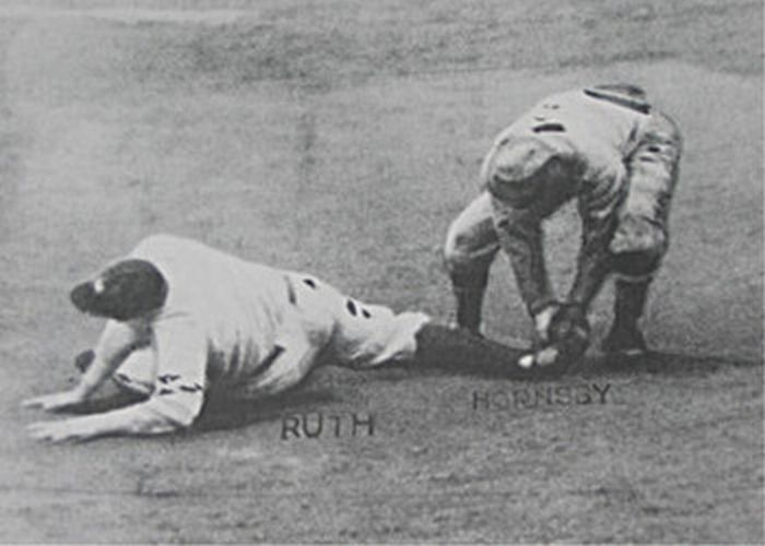3 1926 world series final out - yankees vs cardinals - world series rematches