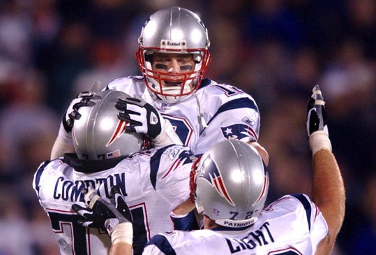 3 patriots comeback over bears 2002 - best tom brady 4th quarter comebacks