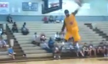 Here's Some Guy Shattering the Backboard with a 360º Dunk (Video)
