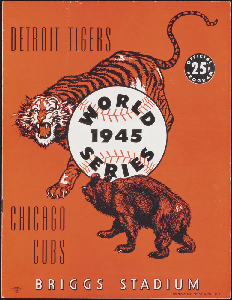4 1945 world series - cubs vs tigers - world series rematches