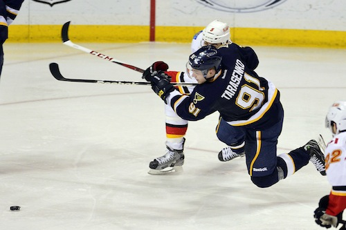 NHL: Calgary Flames at St. Louis Blues
