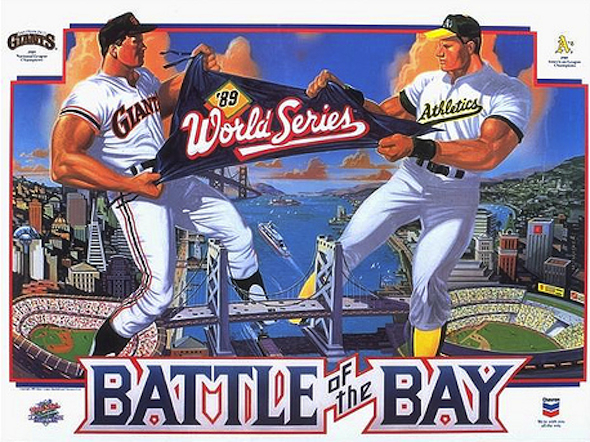 5 1989 world series - giants vs athletics - world series rematches