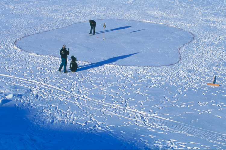 5 uummannaq iceland ice golf course - weird sports venues