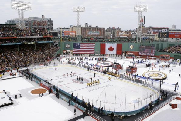 8 winter classic 2010 fenway park - weird sports venues