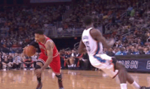 D-Rose Is Back, and He Had Thunder PG Reggie Jackson Twisting and Turning All Over the Place Last Night (GIFs)