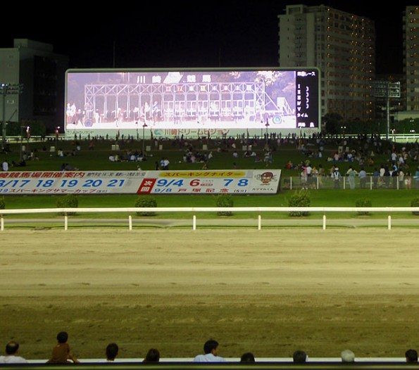 Kawasaki Racecourse screen