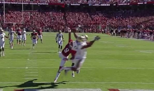 Kodi Whitfield one handed catch