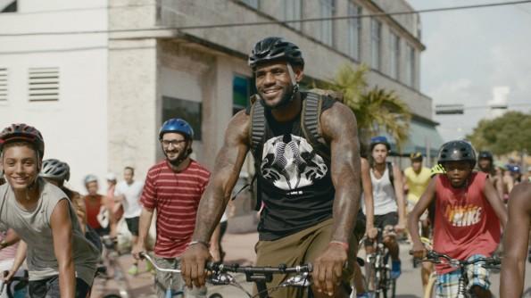 LeBron James Training Day Ad