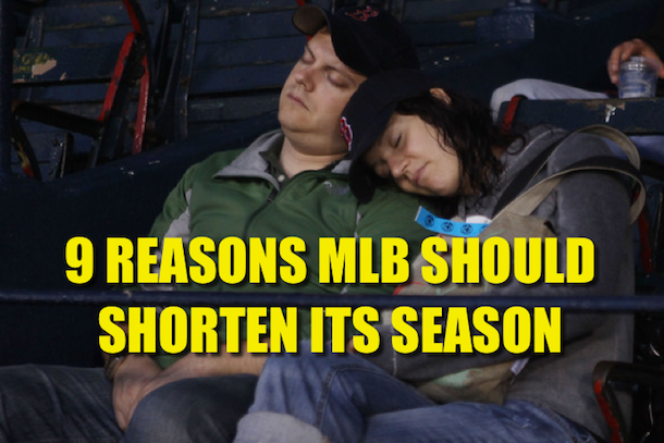 reasons for shorter mlb season
