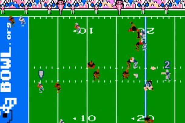 tecmo bowl treatment of brady touchdown