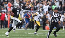 Raiders QB Terrelle Pryor Breaks NFL Record With 93-Yard Touchdown Run (GIF)