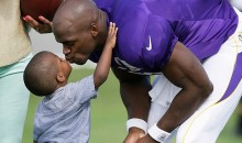 Adrian Peterson's Son Dies: Beaten Unconscious by Mother's Boyfriend At The Age Of 2