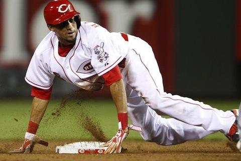 billy hamilton - players to watch mlb postseason 2013 playoffs