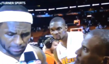 The NBA Is Back, and So Are the Goofy Faces of Chris Bosh (Video + GIF)