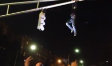 Red Sox World Series Celebration: Idiots Who Weren't Flipping Cars Were Climbing Traffic Light Poles (Videos)