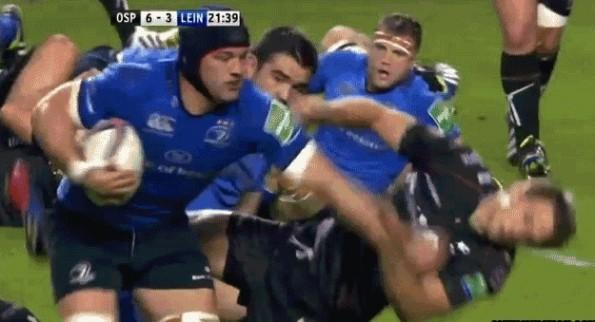 brutal rugby stiff arm