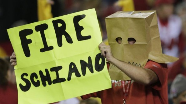 bucs fan paper bag head