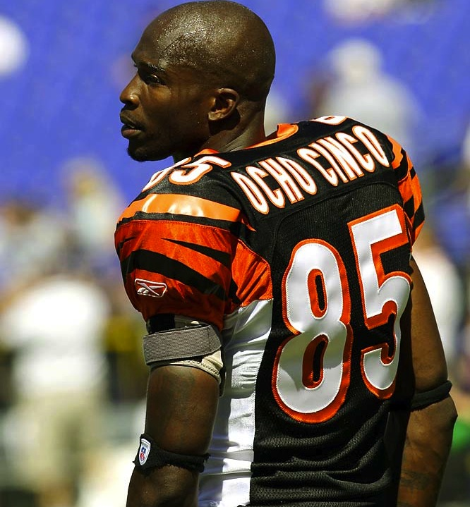chad ochocinco - athletes who changed their names