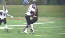 Watch This Division III College Football Player Get Obliterated (GIF)