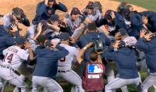 Tigers Celebrate ALDS Victory Like a New Zealand Rugby Team (Video + GIFs)