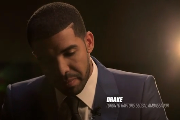 drake raptors global ambassador