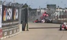 Dario Franchetti Lucky to Be Alive After Epic Wreck at Houston Grand Prix (Video)
