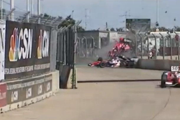 franchetti crash grand prix of houston