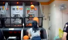 Check Out This Girl's Amazing Rapid Fire Basketball Skills (Video)