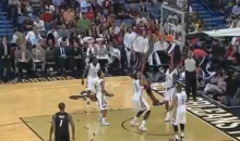 Greg Oden Dunked a Basketball Without Breaking Himself in Half (Video)