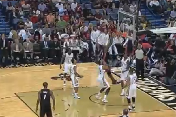 greg oden dunks first time since 2009