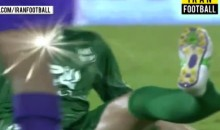 Gruesome Injury: Iranian Soccer Player Breaks Leg in Half (Video)
