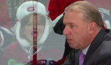 Young Habs Fan Shows Michel Therrien Her Tongue Tricks (GIF)