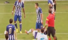 Porto's Hector Herrera Sets Champions League Record by Getting Two Yellow Cards in Just 20 Seconds (Video)