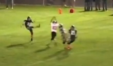 High School Football Awesomeness: Same Kid Blocks Two Punts on One Play (Video)