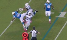 Colts' Hugh Thornton Delivers Costly Late Hit (GIF)