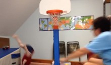Two-for-One Special: This One's a Dunk Fail and a Parenting Fail (Video)