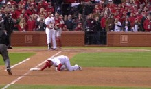 Weird World Series: Game 3 Ends with Walk-Off Obstruction Call, Game 4 Ends with Pickoff at First Base (GIFs)