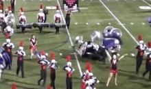 Marching Band Fail: One Tuba Player Trips, Causing Epic Tuba Pileup (Video)
