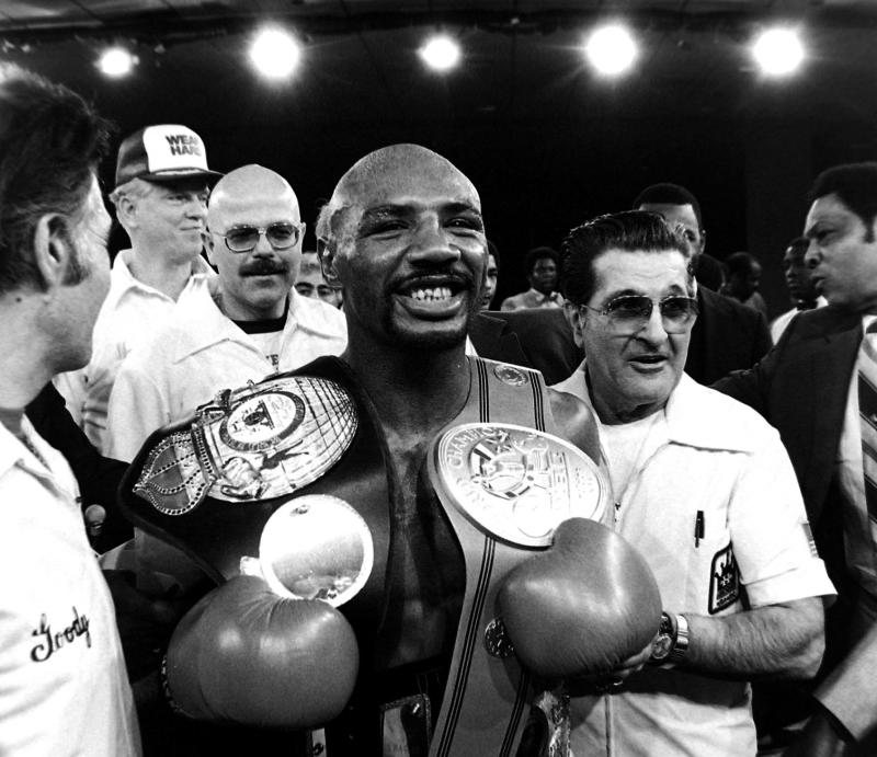 marvelous marvin hagler - athletes who changed their names