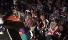 Brazilian MMA Fighter Hops Over Fence and Leaves Arena, Mid-Fight (Video)