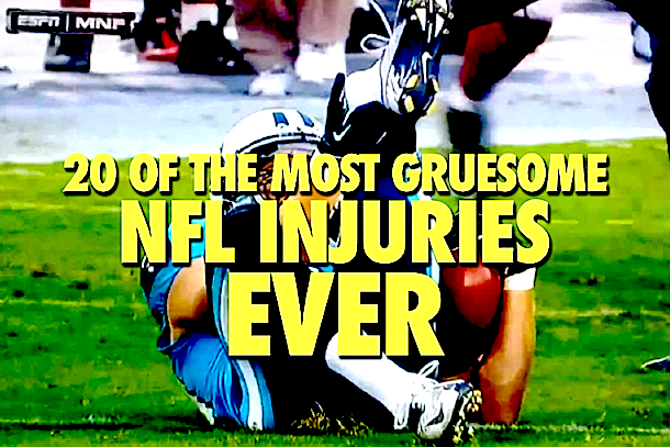 20 of the Most Gruesome NFL Injuries Ever | Total Pro Sports