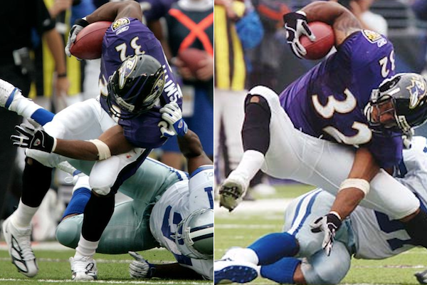 musa smith ravens gruesome compound fracture - gruesome nfl injures