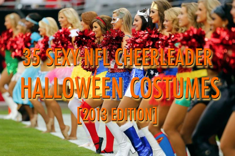nfl cheerleader halloween costumes 2013  sc 1 st  Total Pro Sports & 35 Sexy NFL Cheerleader Halloween Costumes [2013 Edition] | Total ...