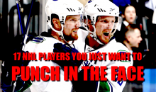 17 NHL Players You Just Want to Punch in the Face