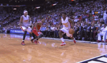 Norris Cole Ankle-Breaker Shows Derrick Rose Still Has Some Rust to Kick Off (GIFs)