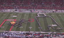 Ohio State Buckeyes Marching Band Performs Tribute to Hollywood (Video)