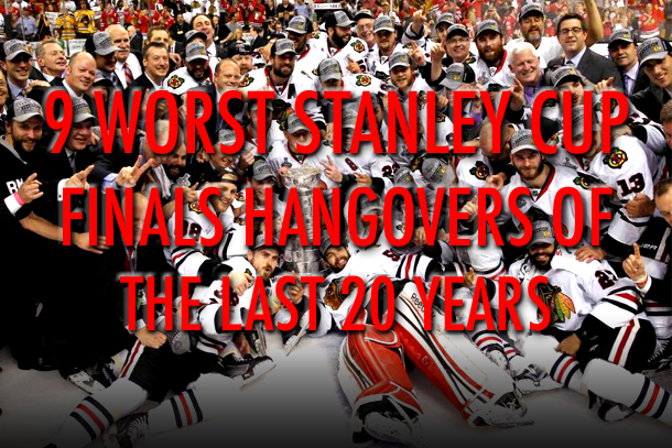 stanley cup hangovers