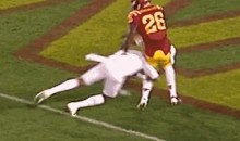 Here's the Cheapest Cheap Shot You'll See in College Football All Year (GIF)